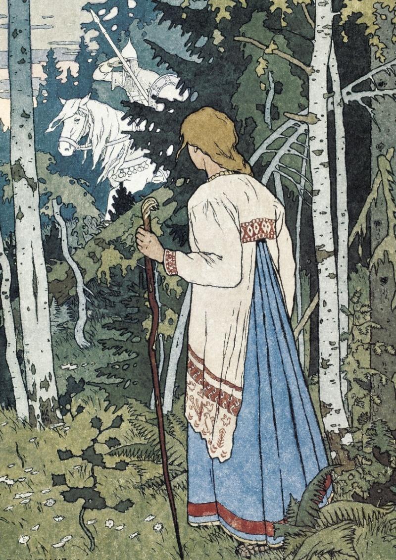 русские сказки с иллюстрациями билибина приятно