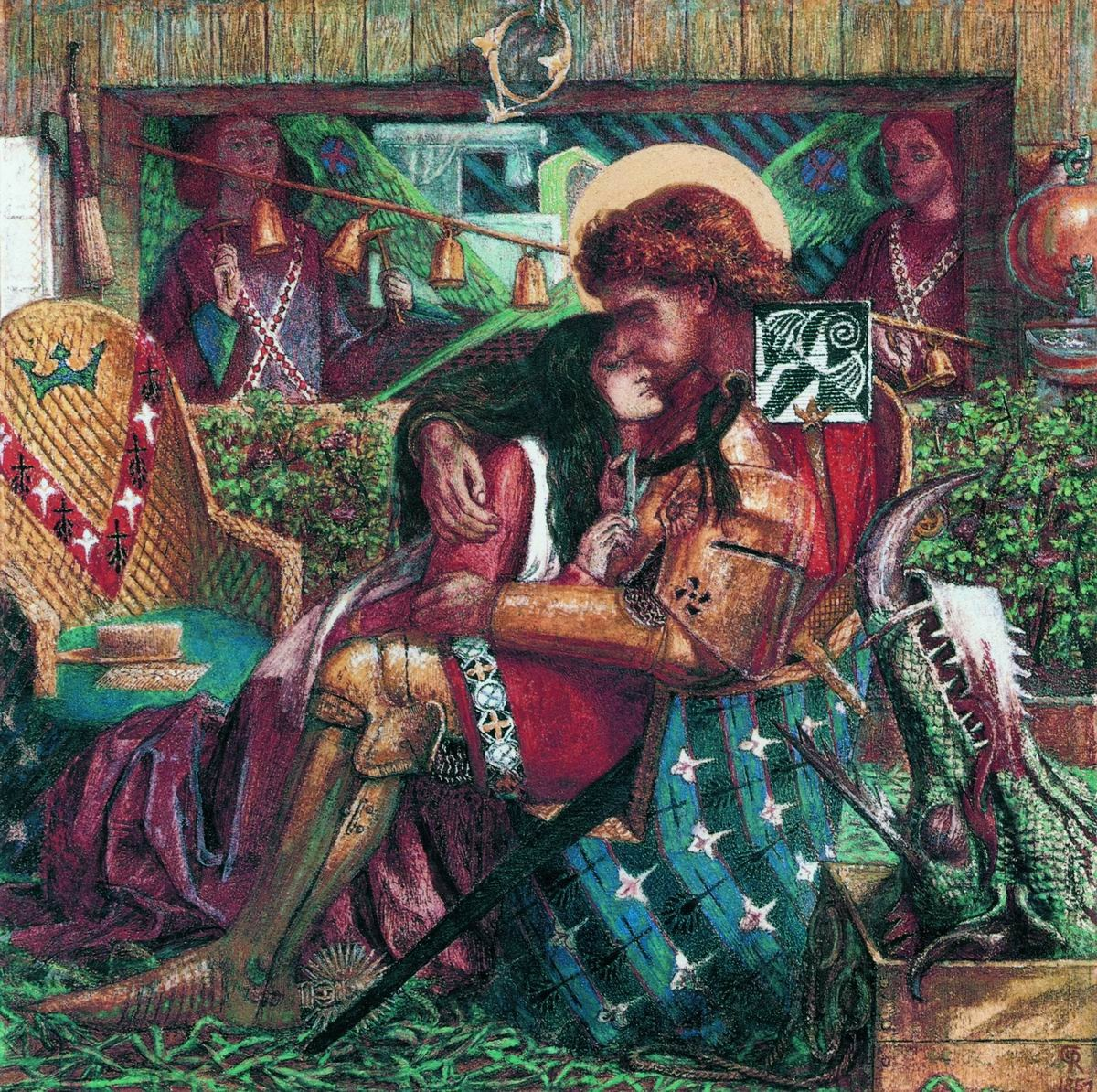 Свадьба святого георгия и принцессы сабры