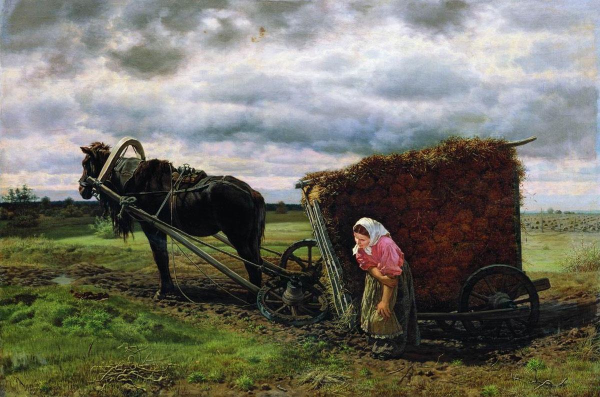Жизнь и быт русской женщины. Работа, издевательства, инцест и невозможность развестись.