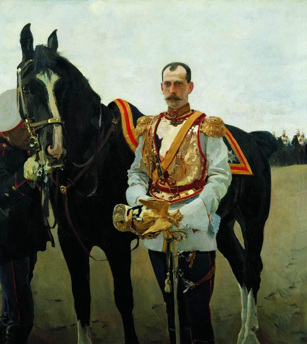 Портрет великого князя Павла Александровича « Серов Валентин ...