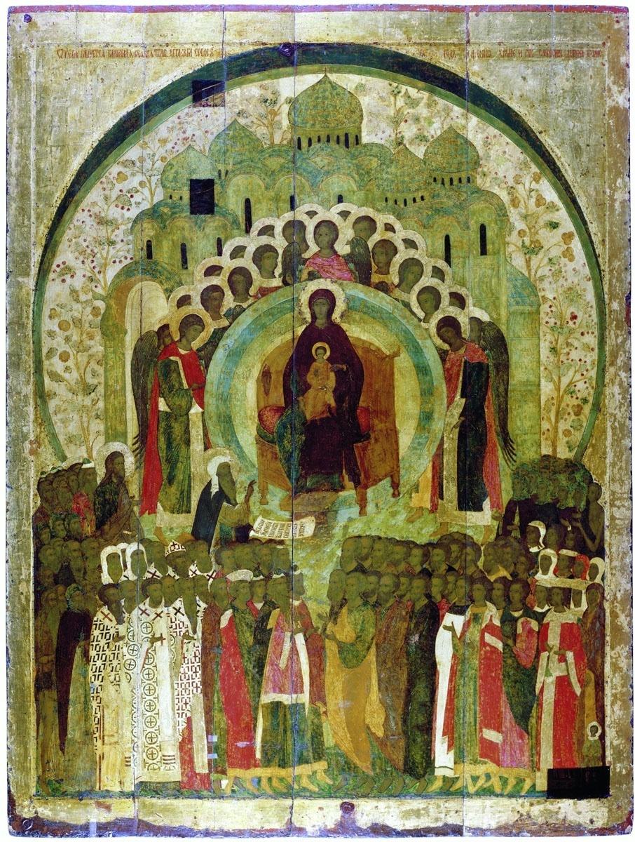 О Тебе радуется « Дионисий ...: vsdn.ru/museum/catalogue/exhibit10487.htm