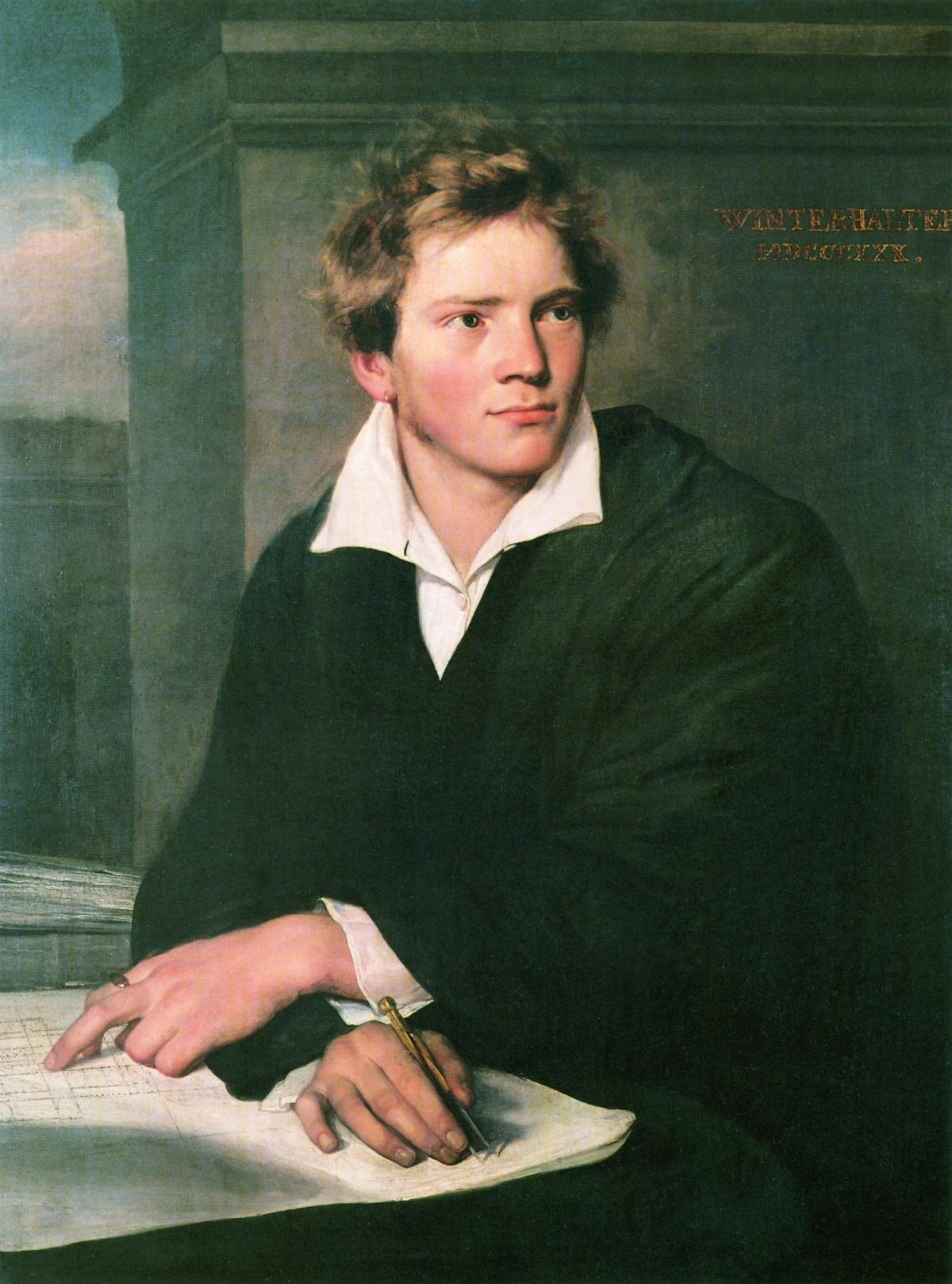 Портрет молодого архитектора
