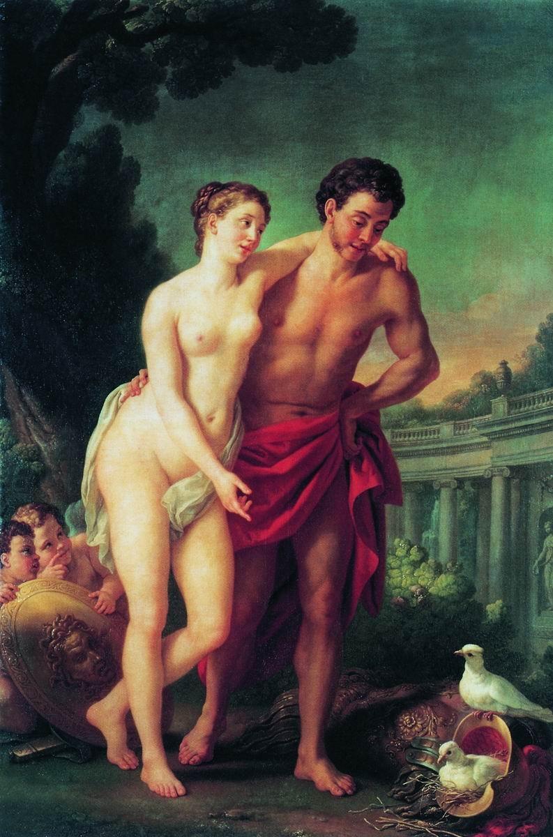 Венера считается слабой в знаках своего изгнания — овне, скорпионе, и в знаке своего падения — деве.
