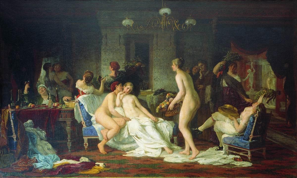Русские фото девичник в бане 3 фотография