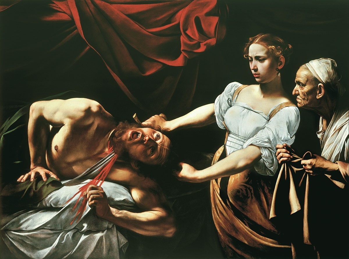 examination of judith and holofernes